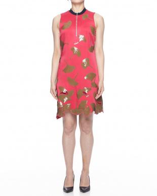 ピンク ピンク&スパンコールミニドレスを見る