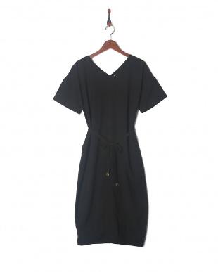 ブラック WASHING STITCH DRESSを見る