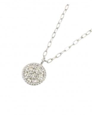 Pt900/Pt850 天然ダイヤモンド 7石 プラチナ ネックレス[ラウンド]を見る