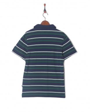 PEACOAT ESS+ ストライプ オープンポロシャツを見る