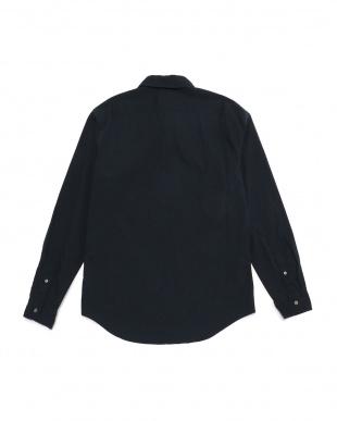 ダークサファイア メンズ 長袖 ソーコー リバー ポプリン ストレッチ シャツを見る