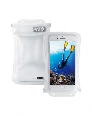 ホワイト スマートフォン用防水・防塵ケース/水没防止タイプ/Lサイズを見る