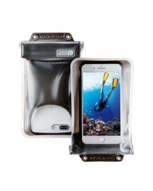 ブラック スマートフォン用防水・防塵ケース/水没防止タイプ/XLサイズを見る