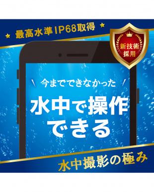 ブラック スマートフォン用防水・防塵ケース/水中タッチ可能/Sサイズを見る