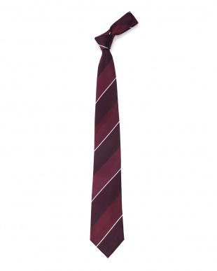 レッド ワイドレジメンタル ネクタイを見る