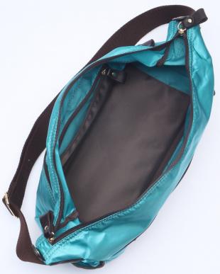 ターコイズブルー [トプカピ] TOPKAPI シルクテックスナイロンショルダーバッグを見る