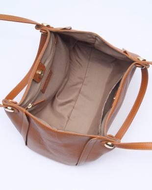 キャメル [トプカピ] TOPKAPI シュリンクレザーダブルハンドルトートバッグを見る