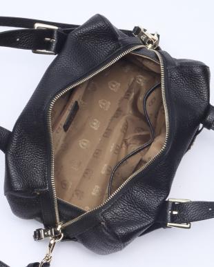 ブラック  [トプカピ] TOPKAPI イタリアンハードシュリンクレザー・2wayミニボストンバッグ FIDO フィードを見る