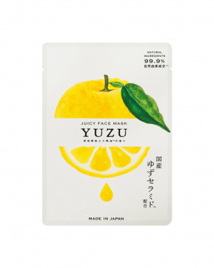 YUZU ジューシーフェイスマスク5個入を見る