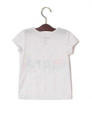 アクア  CLEO ネップ プリント クルーネック 半袖Tシャツを見る
