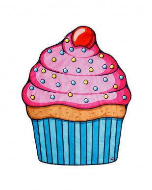 ビッグマウス ビーチブランケット カップケーキを見る