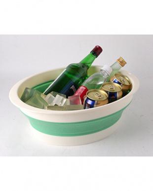 グリーン バッシヌ(畳める洗い桶)を見る