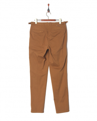 Brown Ice cotton two pleated vintage washedを見る