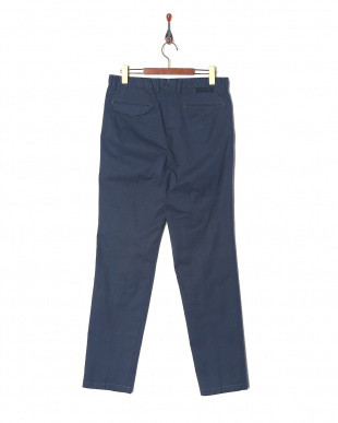 Navy Ice cotton Glen Urquhart check wide tapered fitを見る