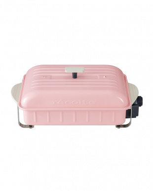 ピンク ホームバーベキュー たこ焼きプレートセットを見る