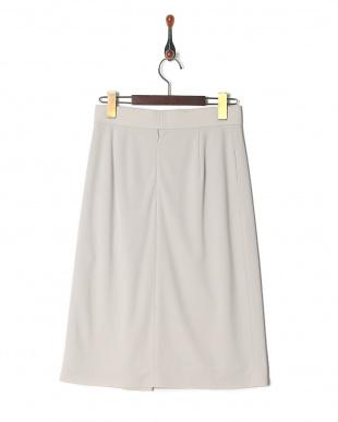 薄グレー トリアセドライポンチスカートを見る