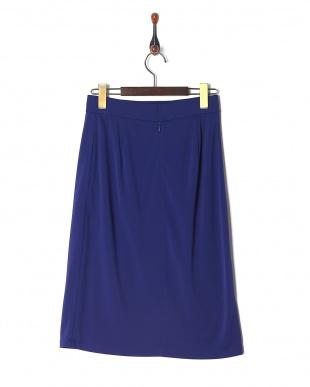 ブルー トリアセドライポンチスカートを見る