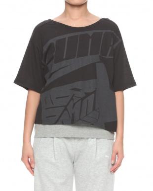 PUMA BLACK オウンイット SS Tシャツを見る