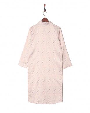 ピンク系プリント CS PAJAMA DRESS[BMコラボ]を見る