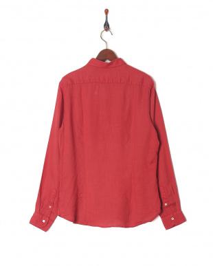 レッド TINTRIA MATTEI スプレッドカラー 長袖シャツを見る