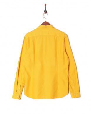 イエロー  TINTRIA MATTEI スプレッドカラー 長袖シャツを見る