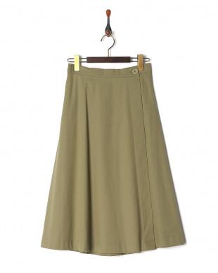KHA コルセット付ラップフレアスカートを見る