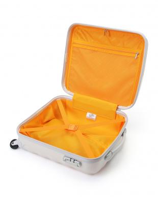 パールホワイト 機内持ち込み対応 CRYSTALITE SPINNER 50 スーツケースを見る