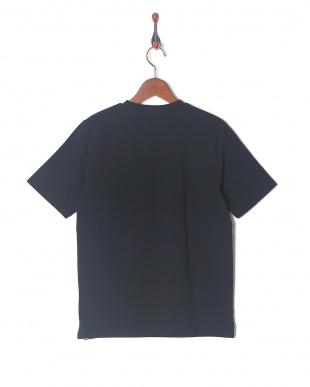 ネイビー 異素材クレイジーポケットTシャツSSを見る