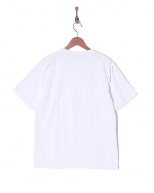 ホワイト 超長綿オーガニックVネックTシャツSSを見る
