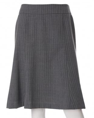 グレー1 《Brilliantstage》《洗えるスーツ》Aラインスカート CLEAR IMPRESSIONを見る