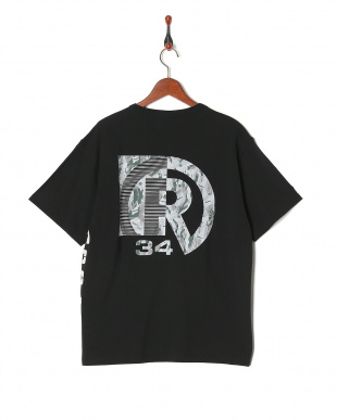 BLACK CAMOUFLAGE PIN T-SHIRTを見る