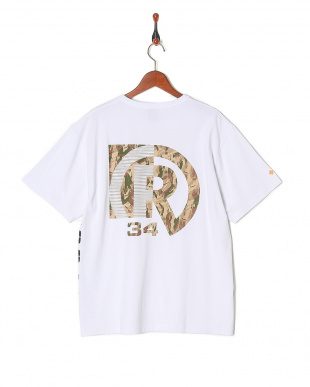 WHITE CAMOUFLAGE PIN T-SHIRTを見る