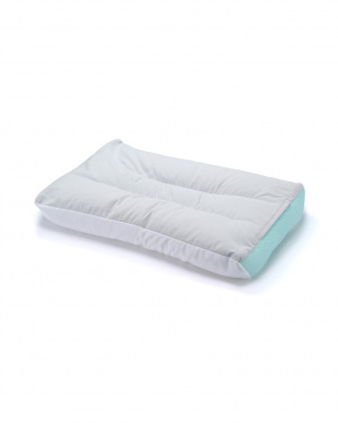 グリーン 快眠枕 「首にやさしいまくら」ソフトパイプを見る