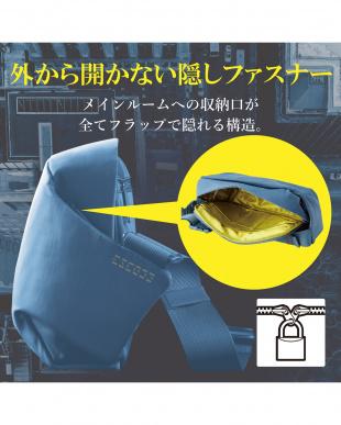 スモークネイビー  「メッセンジャーバッグ」  防刃/撥水加工/隠しファスナー/ESCODEを見る