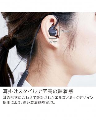 ブラック  「Bluetooth イヤホン」 PureSound/耳かけスタイル/リモコンマイク付きを見る