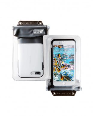 ブラック  「スマートフォン用防水・防塵ケース」 XLサイズ/6インチ対応を見る