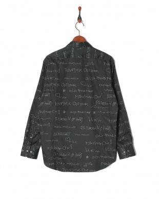 ブラック 20周年 メッセージプリント 長袖シャツを見る
