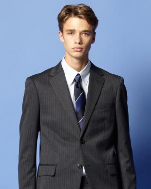 ブルー ワイドレジメンタル ネクタイを見る