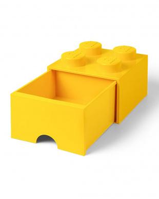 ブライトイエロー レゴブリックドロワー4 レゴ収納ボックス 引き出しタイプを見る