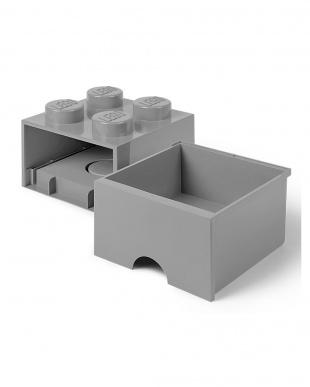 ストーングレー レゴブリックドロワー4 レゴ収納ボックス 引き出しタイプを見る