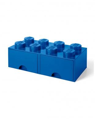 ブライトブルー レゴブリックドロワー8 レゴ収納ボックス 引き出しタイプを見る