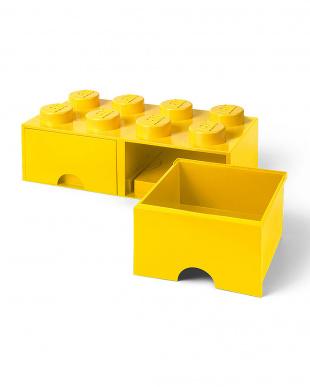 ブライトイエロー レゴブリックドロワー8 レゴ収納ボックス 引き出しタイプを見る