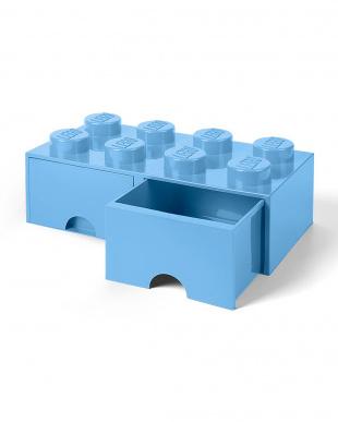 ロイヤルブルー レゴブリックドロワー8 レゴ収納ボックス 引き出しタイプを見る