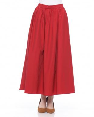 ネイビーブルー 綿ナイロンスカートを見る