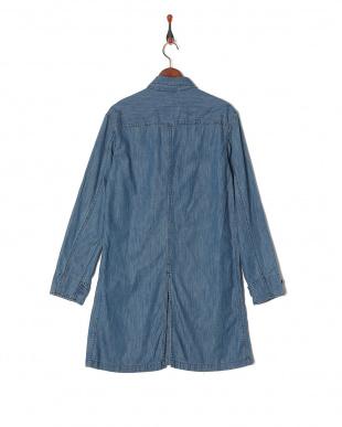 NAVY 6oz DENIM SHT COATを見る