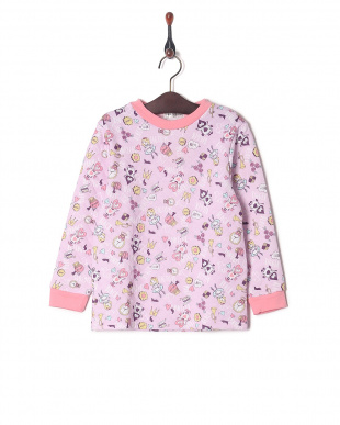 ピンク キルトパジャマを見る