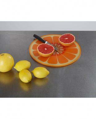 オレンジ マルチガラスボード ラウンドを見る