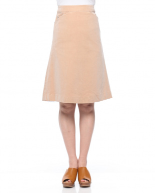 ベージュ ベルベッティーンスカートを見る