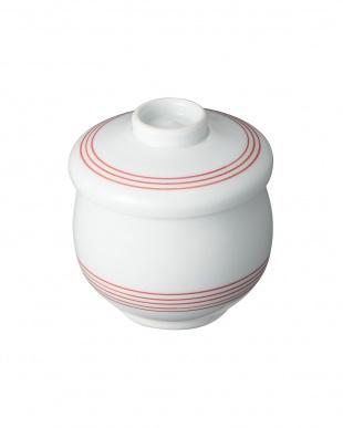 千筋(朱)蒸碗 木製スプーン付を見る