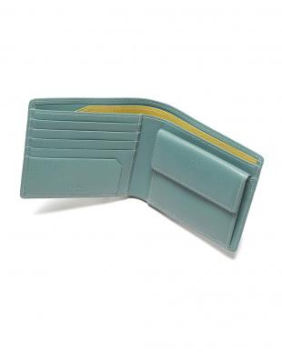 スカイ エンボスレザー 二つ折り財布を見る